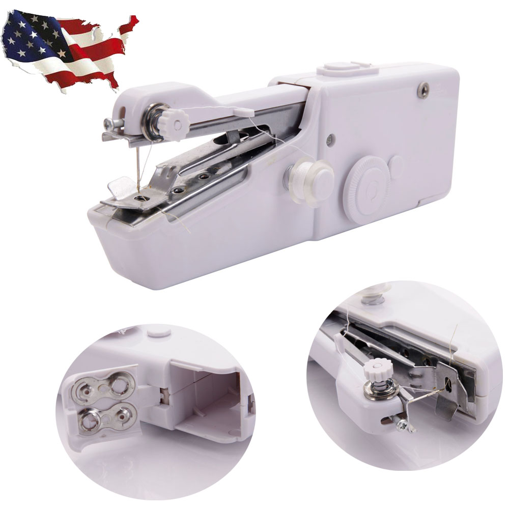 Mini Portable Stitch Sew Handheld Sewing Machine Quick