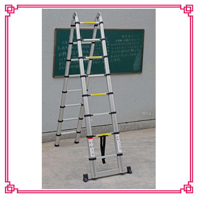 16 5ft Aluminum Multi Purpose Telescopic Ladder Extension