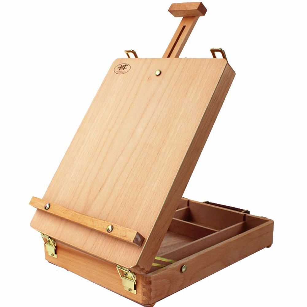 alternatives easel box natural top ravenna sketch art table