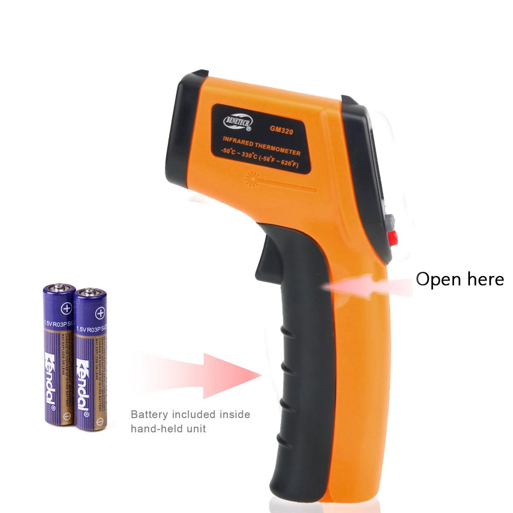 GM320 Non Contact LCD IR Laser Infrared Digital