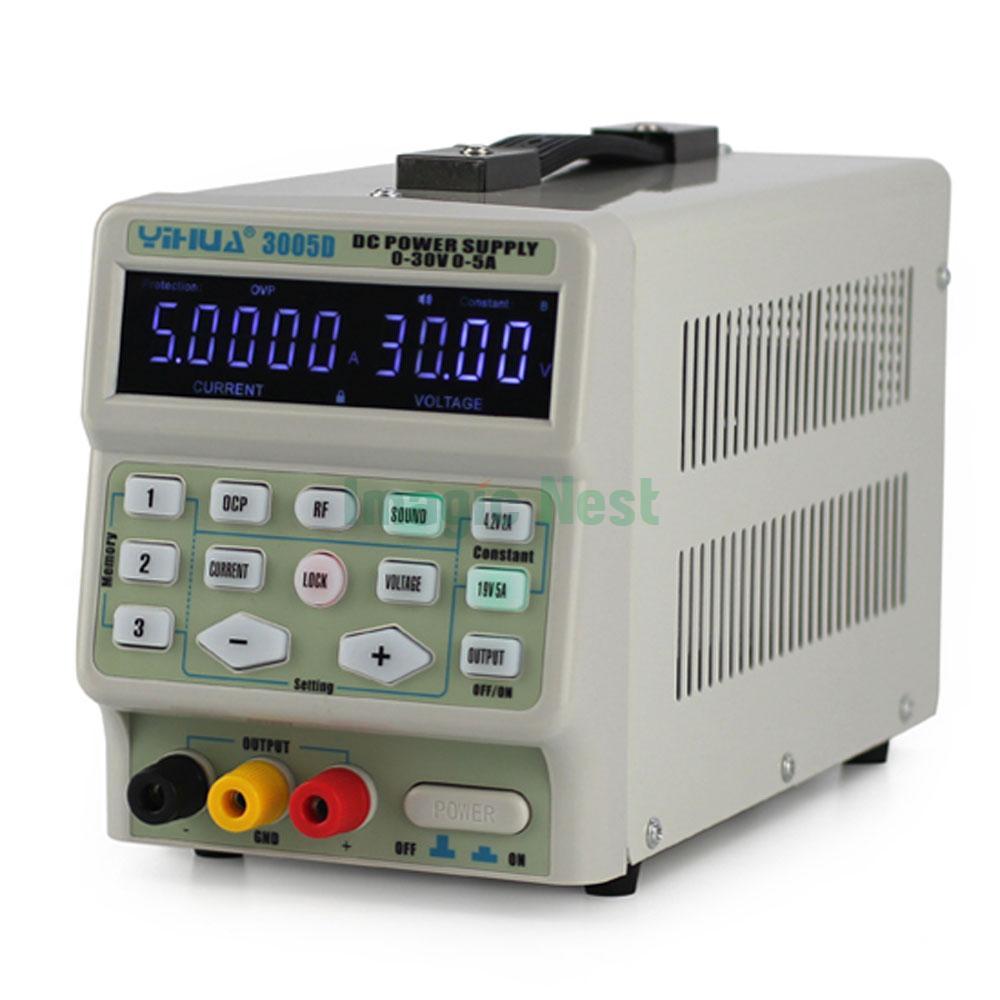 Digital Power Supply : Yihua d v a adjustable digital switching lab dc