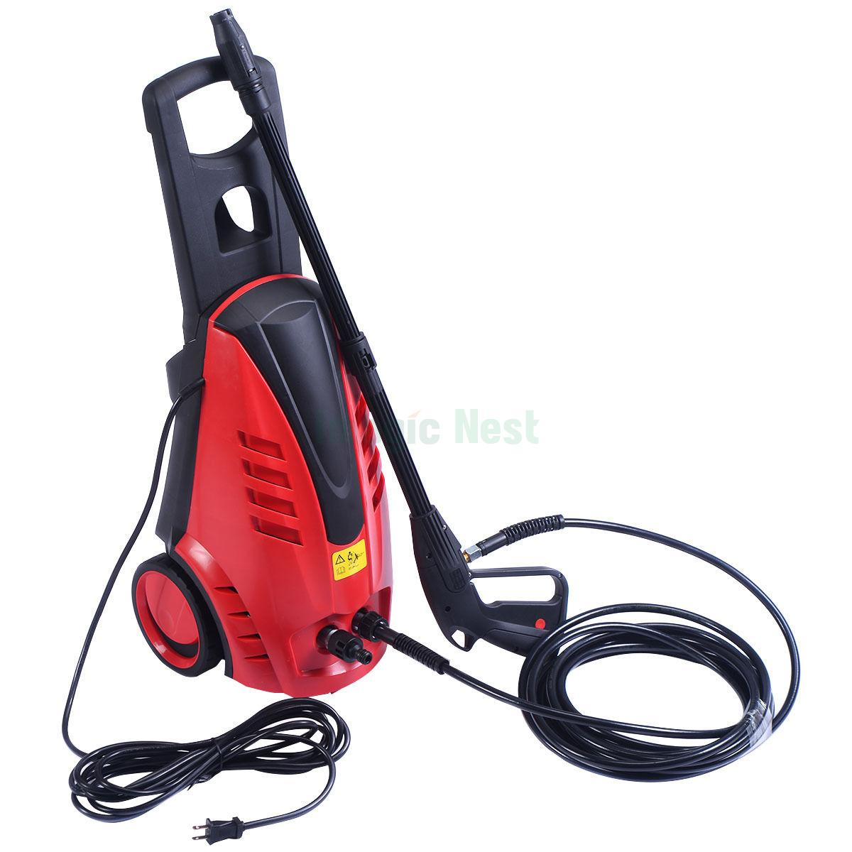 High Pressure Sprayer : W heavy duty burst electric high pressure washer