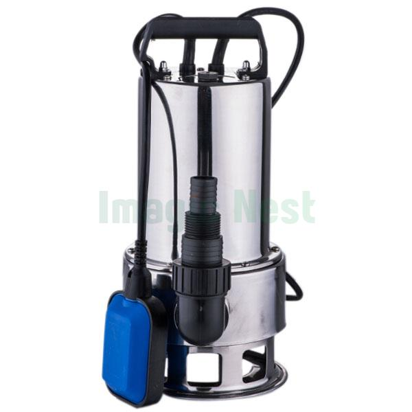 1 5hp submersible stainless steel 4300gph dirty water pump for Pond drain pump