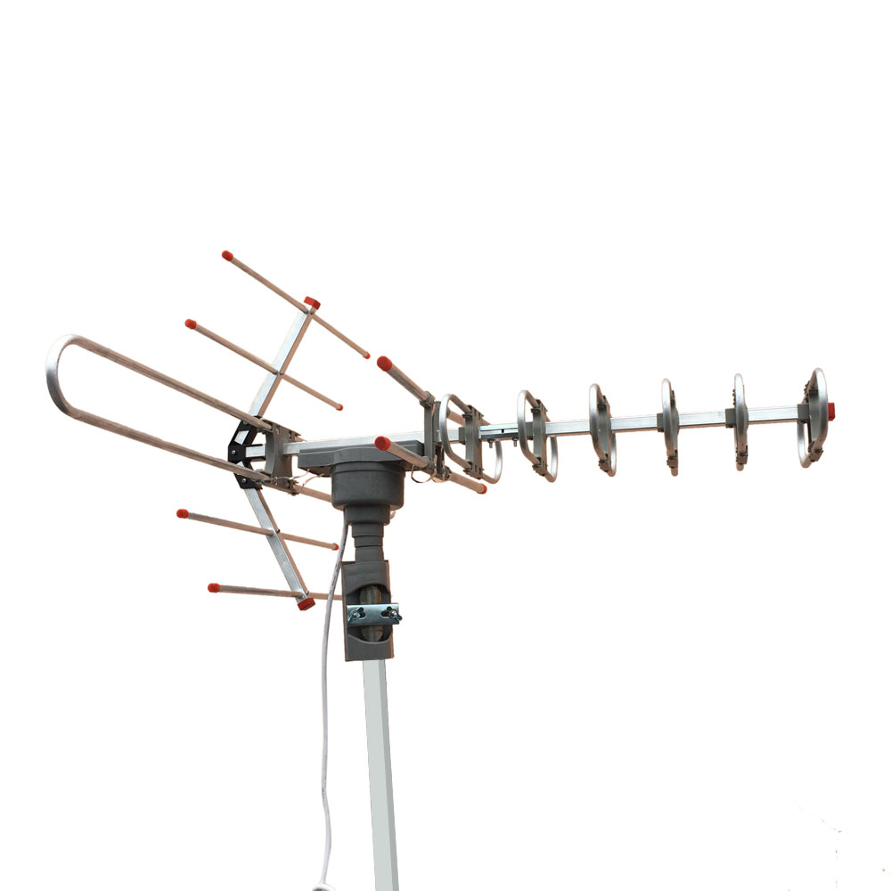 150miles Digital Outdoor 3w Vhf Uhf Fm Hdtv Tv Amplified