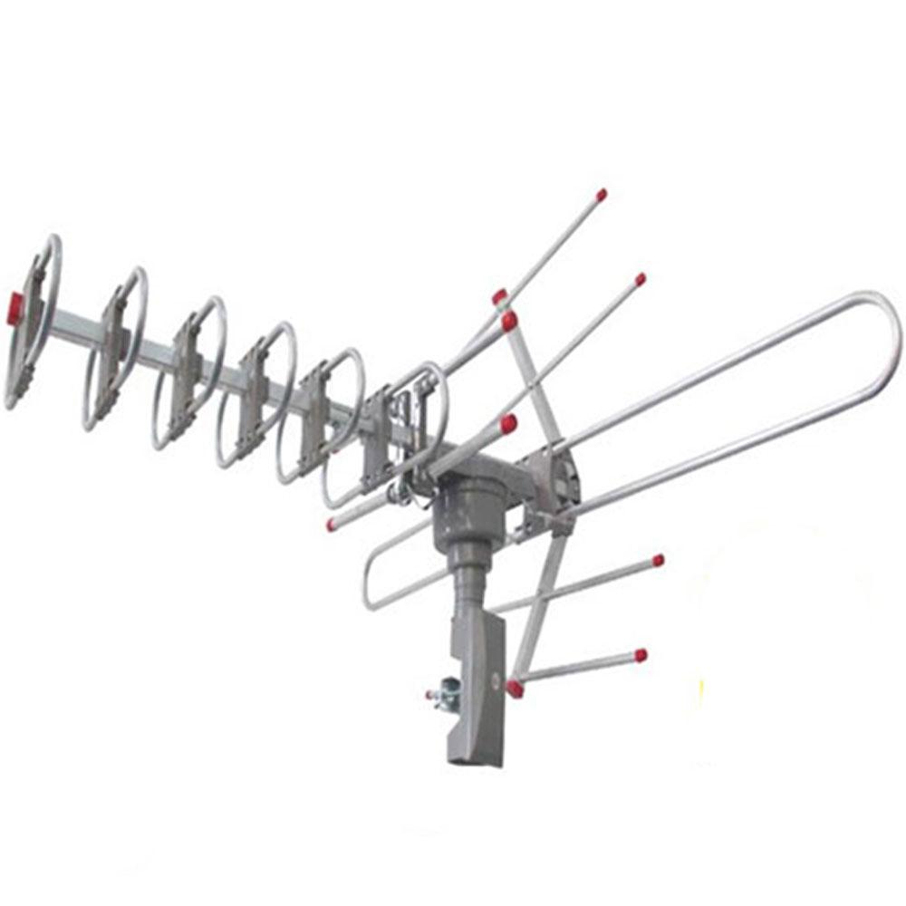 150miles digital outdoor 3w vhf uhf fm hdtv tv amplified