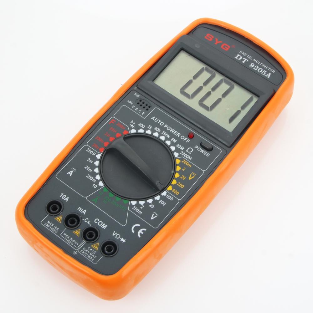 Digital Voltmeter Walmart : Dt a digital multimeter voltmeter ohmmeter ammeter