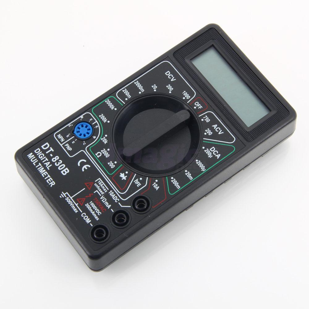 New Digital Electric Meter : Dt b mini ac dc voltage lcd display digital multimeter