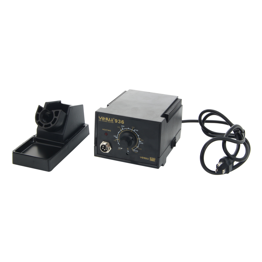 yihua 936 smd esd 110v rework electric soldering station kit set with iron stand ebay. Black Bedroom Furniture Sets. Home Design Ideas