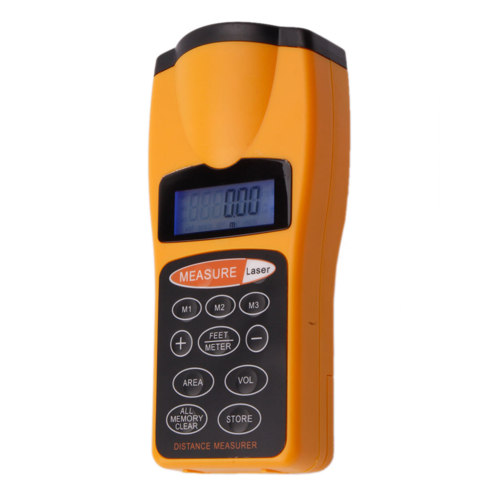 Cp 3007 Lcd Ultrasonic Distance Measurer With Laser