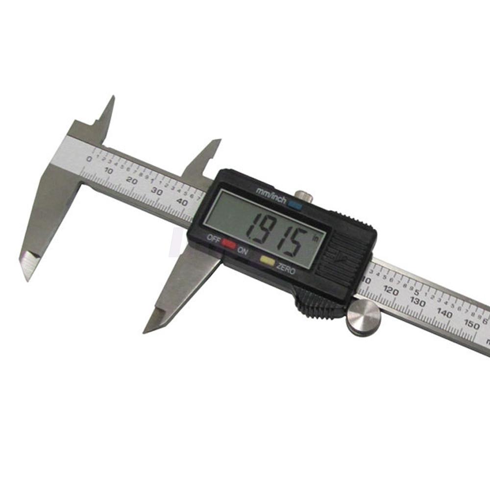 150mm  6inch Lcd Digital Electronic Vernier Caliper Gauge
